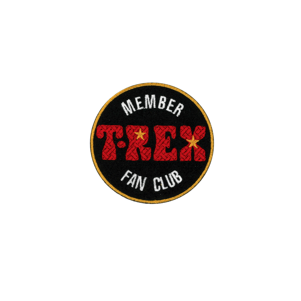 T.Rex Fan Club - PatchYaLater Patch - patches