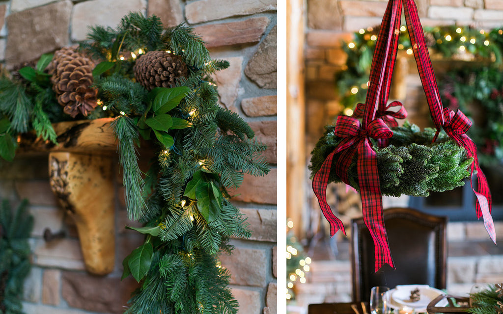 Garland and euro noble wreath