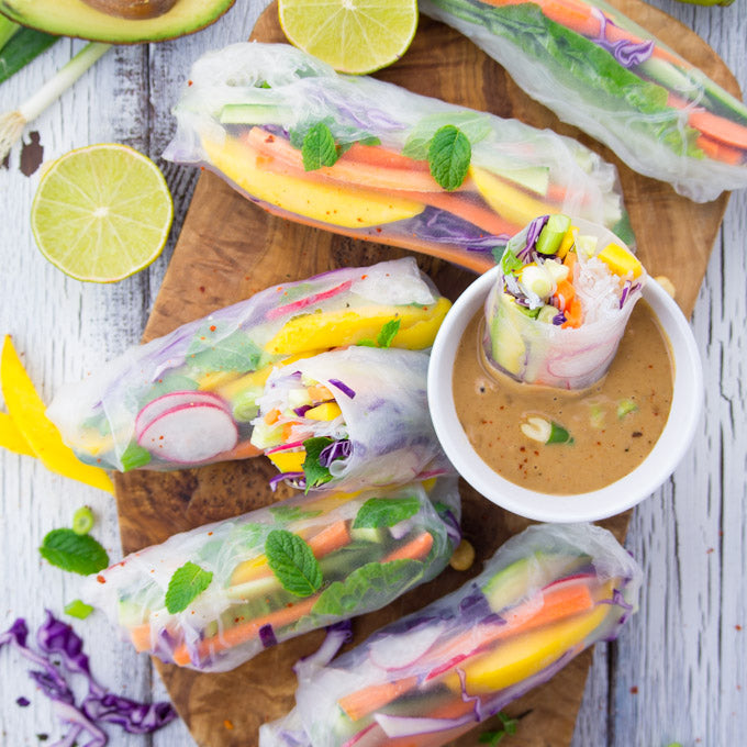 Rice-Paper-Rolls-with-Mango-and-Mint-6