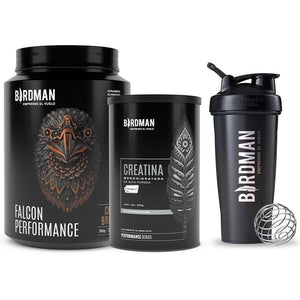 Falcon Performance Proteína vegetal 1.14kg + Creatina + BlenderBottle® - VidaBirdman