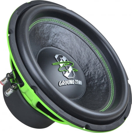 "Iridium 12"" SPL bassakeila 1000w Green Edition"