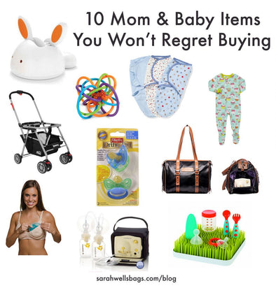 10 Mom & Baby Items You Won't Regret Buying