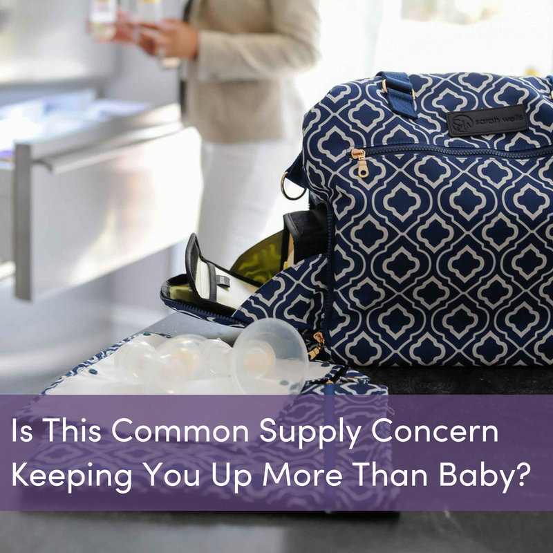 cc8a06cf58956 Is This Common Supply Concern Keeping You Up More Than Baby? – Sarah Wells  Bags