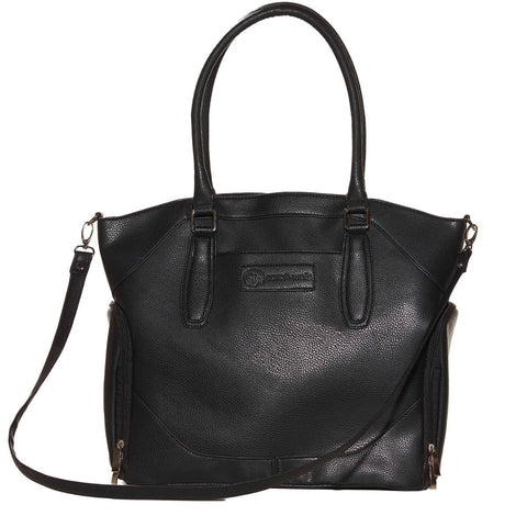 Annie (Black) - Buy Designer Breast Pump Bags and Coordinating Pumping Accessories from Sarah Wells Bags