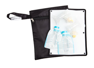 Pumparoo (Black) / Breast Pump Bags & Accessories from Sarah Wells