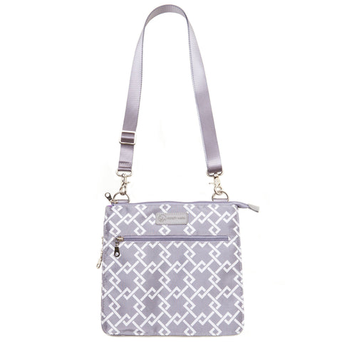 MheartM (gray) - Buy Designer Breast Pump Bags and Coordinating Pumping Accessories from Sarah Wells Bags