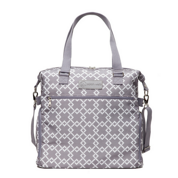 Lizzy (Gray) / Breast Pump Bags & Accessories from Sarah Wells