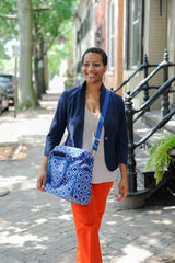 Lizzy (Navy) / Breast Pump Bags & Accessories from Sarah Wells