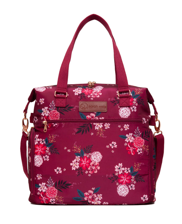 Lizzy (Berry Bloom) / Breast Pump Bags & Accessories from Sarah Wells