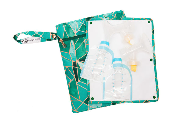 Pumparoo (Mosaic) / Breast Pump Bags & Accessories from Sarah Wells
