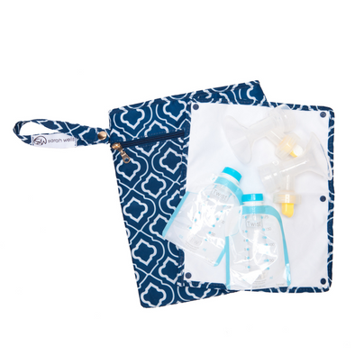 Pumparoo (Navy) / Breast Pump Bags & Accessories from Sarah Wells