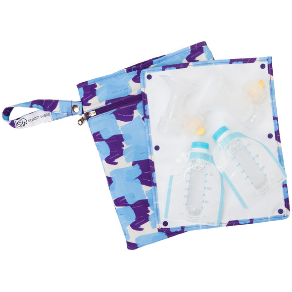 Pumparoo (Painterly) / Breast Pump Bags & Accessories from Sarah Wells