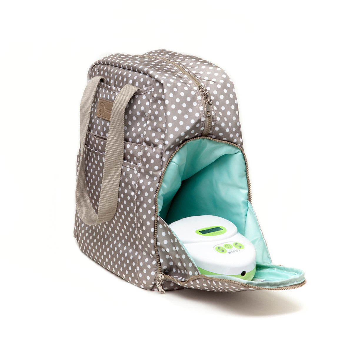 Kelly (Greige) - Breast Pump Bags and Pumping Accessories from Sarah Wells Bags