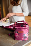 Cold Gold (Berry Bloom) / Breast Pump Bags & Accessories from Sarah Wells