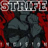 STRIFE - INCISION CLEAR VINYL SILKSCREENED (LIMITED TO 150)