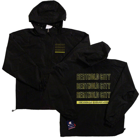 BERTHOLD CITY - CHAMPION  PACKABLE ANORAK LOGO JACKET