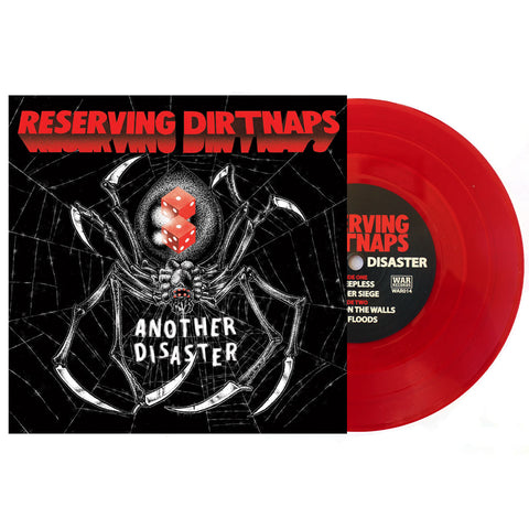 RESERVING DIRTNAPS - ANOTHER DISASTER RED VINYL (OUT OF 400)