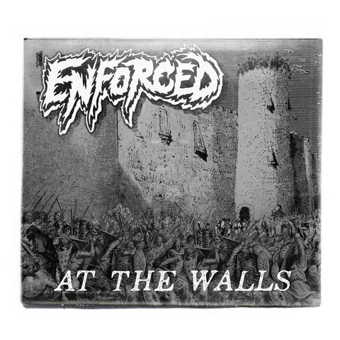 ENFORCED - AT THE WALLS CD