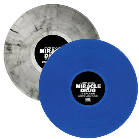 "MIRACLE DRUG ""HOW MUCH IS ENOUGH"" 12"" EP"