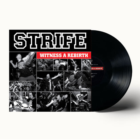 STRIFE - WITNESS A REBIRTH BLACK VINYL