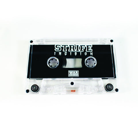 STRIFE - INCISION CLEAR CASSETTE