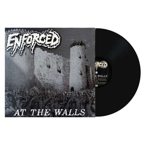 ENFORCED - AT THE WALLS SECOND PRESS BLACK  (OUT OF 325)