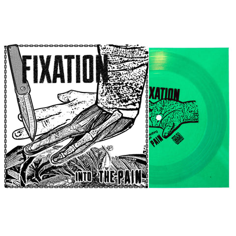 "FIXATION - ""INTO THE PAIN""  FLEXI GREEN (OUT OF 200)"