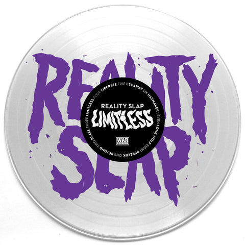 "REALITY SLAP ""LIMITLESS"" SILKSCREENED 12"" (LTD TO 50)"