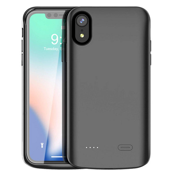 Apple iPhone Xr Battery Case, iPhone Xr battery charging case, 5000 mah, Xr power case, Xr rechargeable battery case