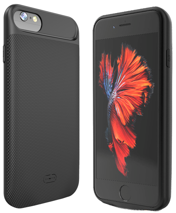 SMRT Flex - iPhone battery charging case for 6, 6s, 7, 8 Plus phones