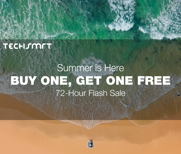 TechSMRT 72-hour flash sale, buy one get one free