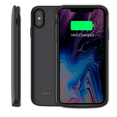 SMRT iPhone Xs Max Battery Charging Case