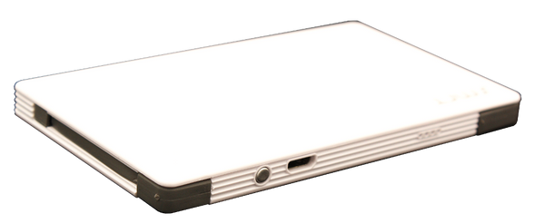 SMRT bank - 4000 mah fast charging powerbank with iphone and micro-usb android