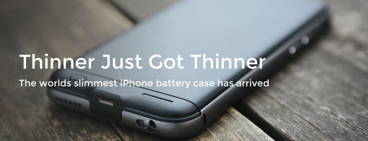 The worlds slimmest iPhone battery case has arrived