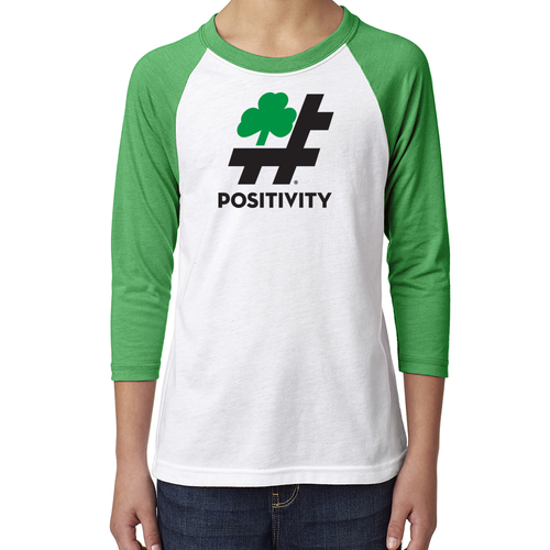 Youth Shamrock Baseball Tee