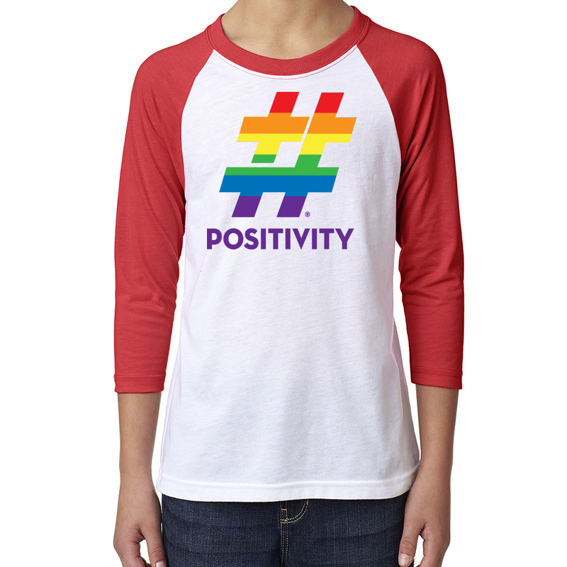 Youth Pride Baseball Tee