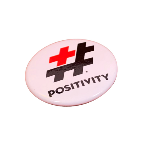 #POSITIVITY Button