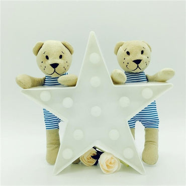 3D LED Light Star Shape - Theblingmarket