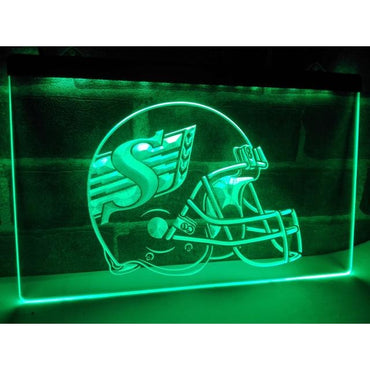 Riders Helmet Neon LED Light