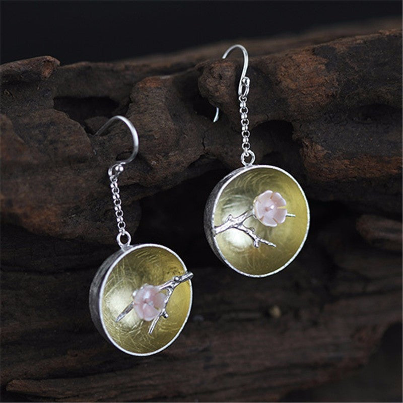 Pink Miracle Drop Earring - Theblingmarket