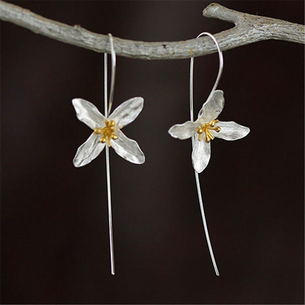 Blooming Hoop Earrings - Theblingmarket
