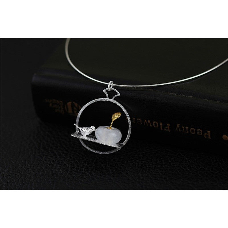 Stray Birds Pendant Necklace - Theblingmarket