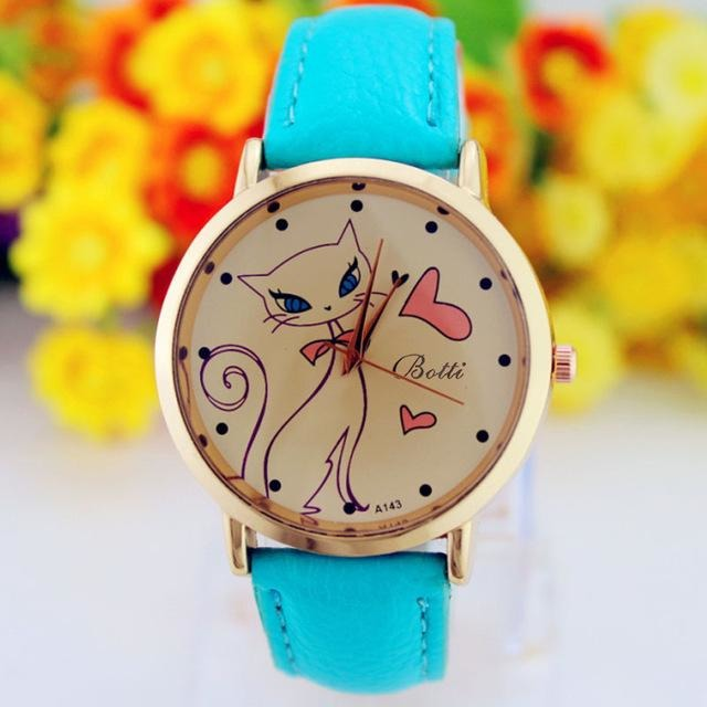 The Cat Lover Dial Watch