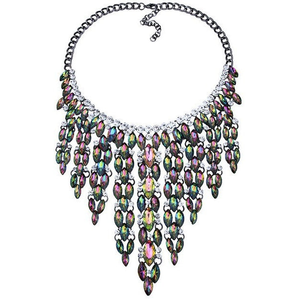 Ariana Crystal Necklace - Theblingmarket