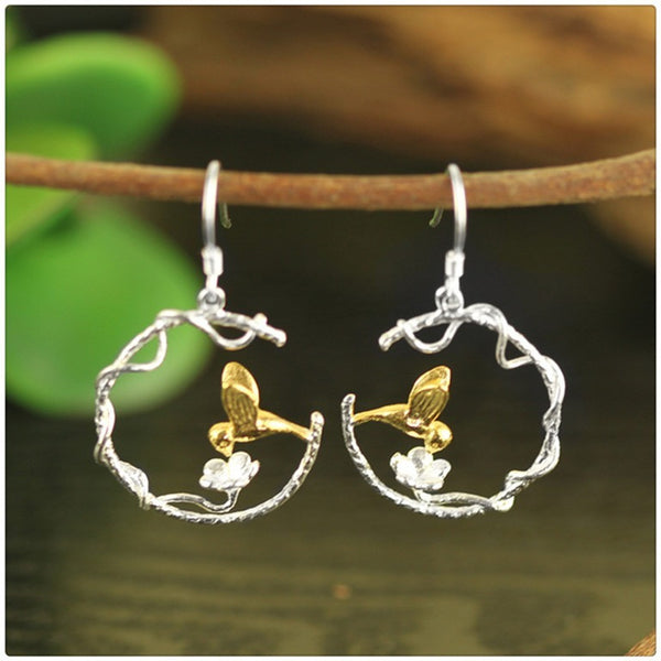 Lovely Bird Dangles - Theblingmarket
