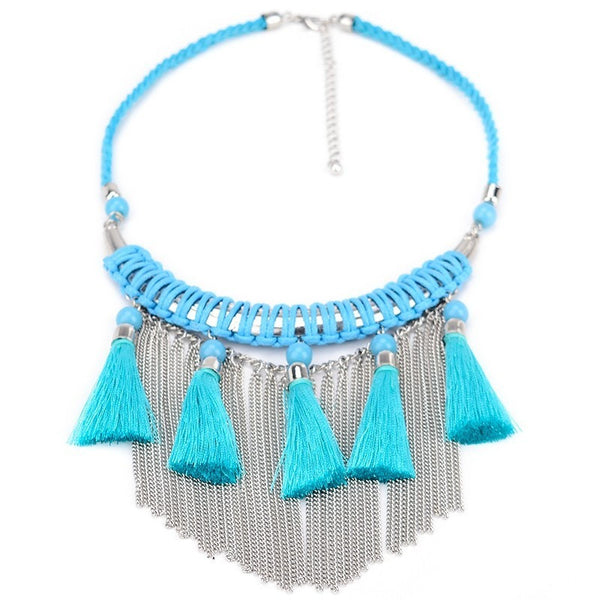 Essential Fringe necklace - Theblingmarket