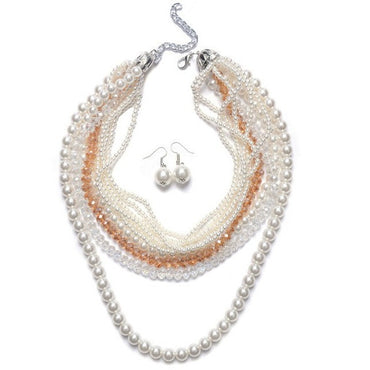 Gala Pearl Necklace - Theblingmarket