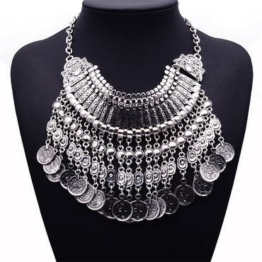 Chunky Coin Necklace - Theblingmarket