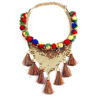 Summer Sequins Necklace - Theblingmarket