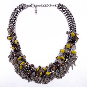 Wella Beaded Necklace - Theblingmarket